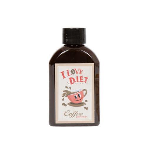 [커피그린빈] 포켓커피 디아이이티 커피 100mlx8병 (다이어트커피)