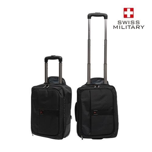 [스위스밀리터리] 비지니스브리핑 (16.8인치 비즈니스 가방 겸용 캐리어)
