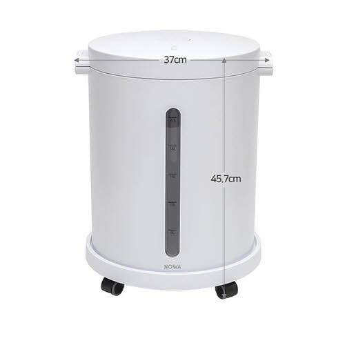 [까사맘] 무선 진공 쌀통 24L(20KG) NWA-604