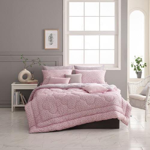 [알레르망] 쉐리든 차렵이불 Q 3종세트 핑크