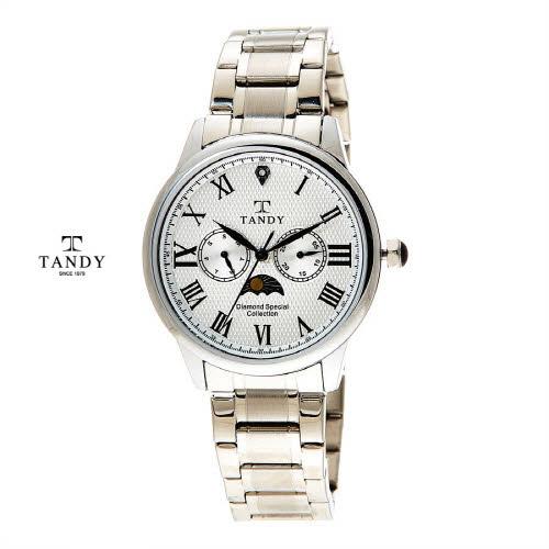 [탠디] 다이아몬드 메탈손목시계 DIA-3920-WH