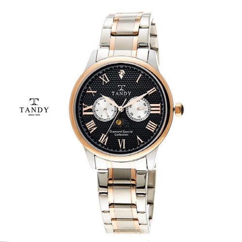 [탠디] 다이아몬드 메탈손목시계 DIA-3920-BK